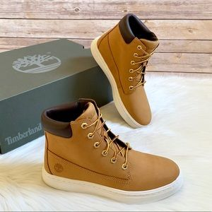 """Timberland Wheat Londyn 6"""" Lace Up Sneaker Boots"""